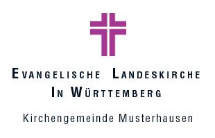 Logo Evang. Kirchengemeinde Musterhausen